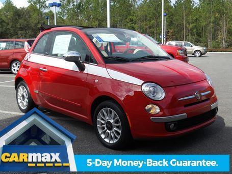 2012 FIAT 500c Lounge Lounge 2dr Convertible