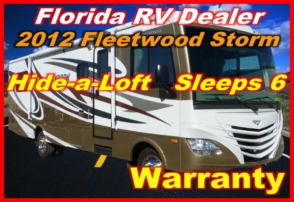 2012 fleetwood storm 28 f for sale in port charlotte florida classified. Black Bedroom Furniture Sets. Home Design Ideas