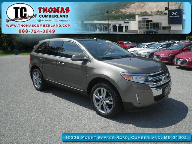 2012 ford edge limited awd limited 4dr crossover for sale in cumberland maryland classified. Black Bedroom Furniture Sets. Home Design Ideas