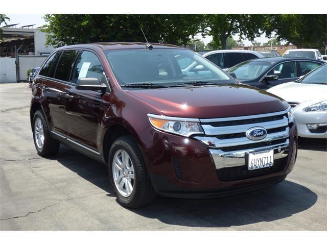 2012 ford edge se 4dr fwd se for sale in northridge california classified. Black Bedroom Furniture Sets. Home Design Ideas