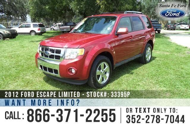 2012 Ford Escape Limited - 23K Miles - On-Site