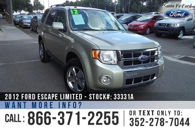2012 Ford Escape Limited - 29K Miles - On-site