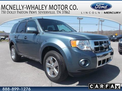 2012 ford escape limited sevierville tn for sale in pigeon forge tennessee classified. Black Bedroom Furniture Sets. Home Design Ideas