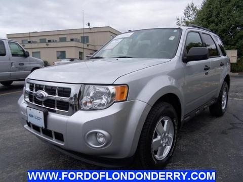 2012 ford escape xlt londonderry nh for sale in londonderry new. Cars Review. Best American Auto & Cars Review