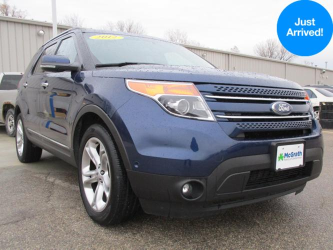 2012 ford explorer limited awd limited 4dr suv for sale in dubuque iowa classified. Black Bedroom Furniture Sets. Home Design Ideas