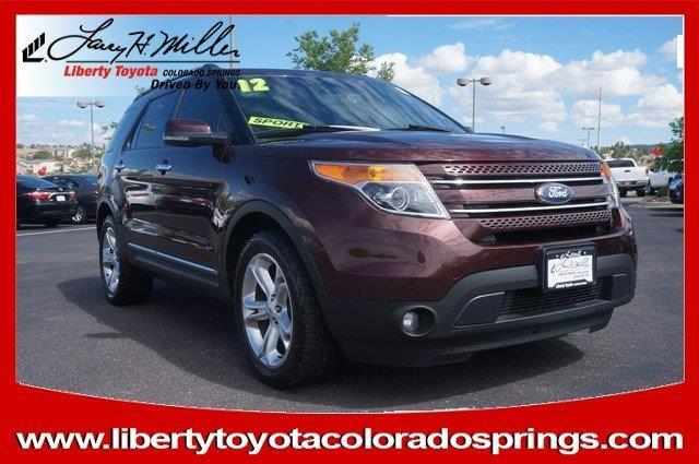 2012 ford explorer limited awd limited 4dr suv for sale in colorado springs colorado classified. Black Bedroom Furniture Sets. Home Design Ideas