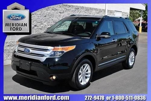 2012 ford explorer sport utility vehicle xlt for sale in meridian idaho classified. Black Bedroom Furniture Sets. Home Design Ideas
