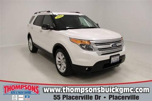 2012 ford explorer sport utility xlt for sale in bucks bar california classified. Black Bedroom Furniture Sets. Home Design Ideas