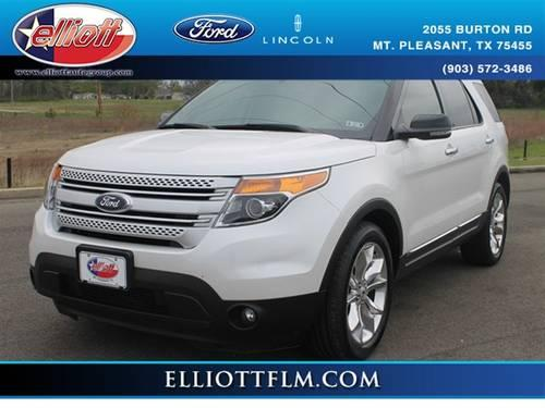 2012 ford explorer suv xlt for sale in mount pleasant texas classified. Black Bedroom Furniture Sets. Home Design Ideas