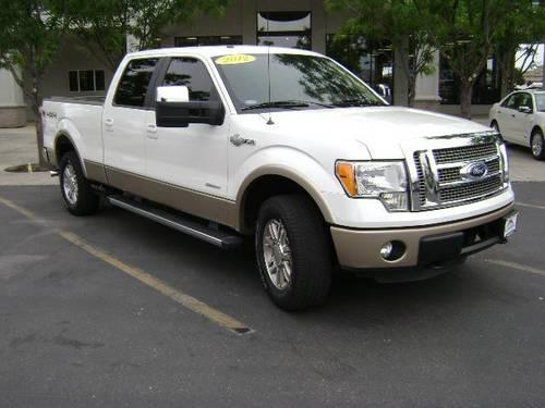 Courtesy Ford Pocatello >> 2012 Ford F-150 4D Crew Cab King Ranch for Sale in ...