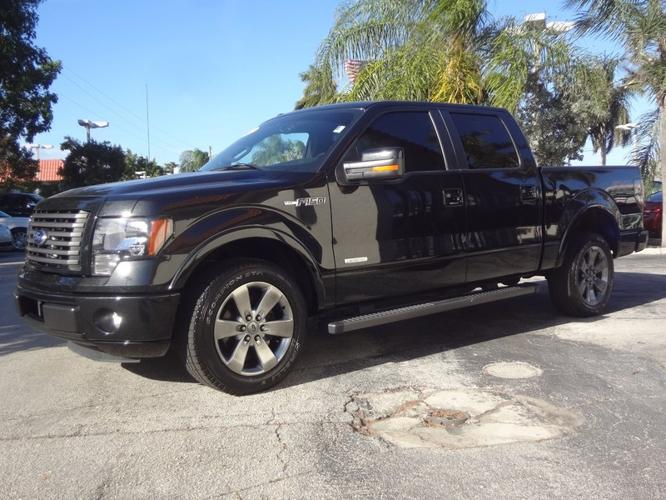 2012 ford f 150 4x2 fx2 4dr supercrew styleside 6 5 ft sb for sale in delray beach florida. Black Bedroom Furniture Sets. Home Design Ideas