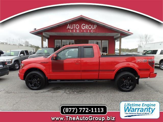 2012 Ford F-150 FX4 4x4 FX4 4dr SuperCab Styleside 6.5