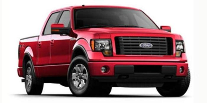 2012 Ford F-150 FX4 4x4 FX4 4dr SuperCrew Styleside 6.5