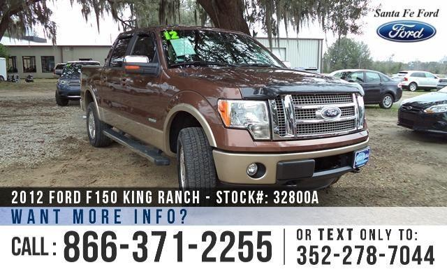 2012 Ford F-150 King Ranch - Warranty - Leather