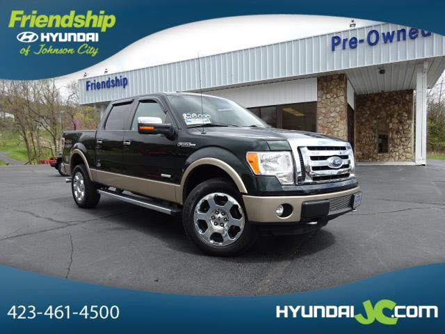 2012 ford f 150 lariat 4x4 lariat 4dr supercrew styleside for Roan street motors north johnson city tn