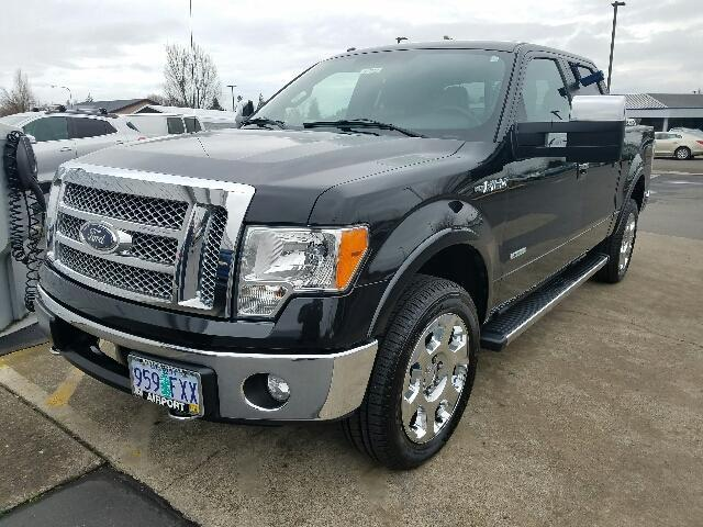 2012 ford f 150 lariat 4x4 lariat 4dr supercrew styleside 6 5 ft sb for sale in medford oregon. Black Bedroom Furniture Sets. Home Design Ideas
