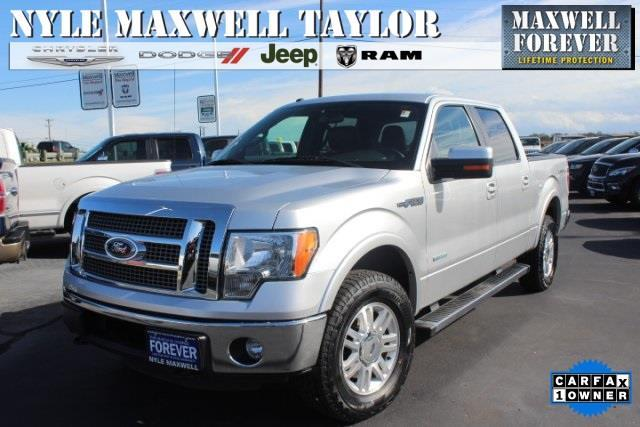 2012 Ford F-150 Platinum 4x4 Platinum 4dr SuperCrew