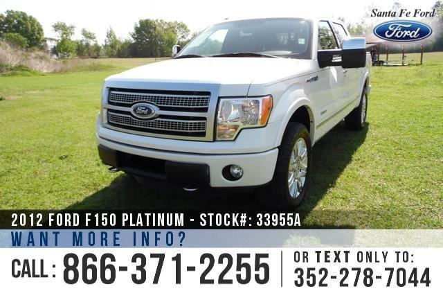 2012 Ford F-150 Platinum - 87K Miles - Finance Here!