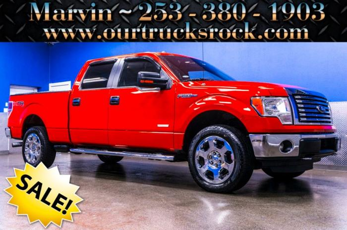2012 ford f 150 super crew cab 4x4 xlt xtr ecoboost for sale in edgewood washington classified. Black Bedroom Furniture Sets. Home Design Ideas