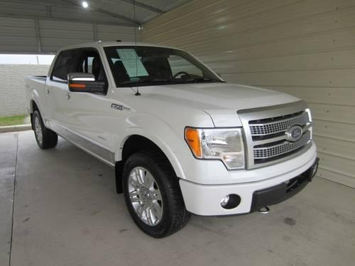 2012 ford f 150 super crew pickup truck platinum 4x4 ecoboost for sale in dallas texas. Black Bedroom Furniture Sets. Home Design Ideas