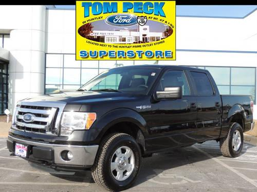 2012 Ford F-150 Supercrew 4X4 XLT Crewcab 4x4