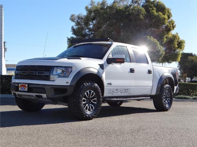 2012 Ford F-150 SVT Raptor 4x4 SVT Raptor 4dr SuperCrew