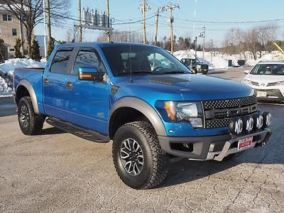 2012 Ford F-150 SVT Raptor Crew Cab Pickup 4-Door