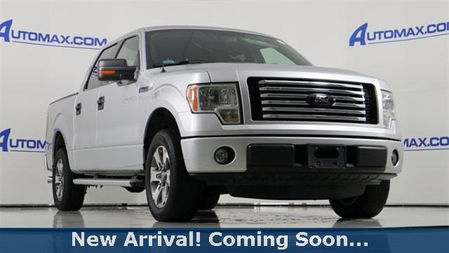 2012 Ford F-150 XL 4x2 XL 4dr SuperCrew Styleside 5.5