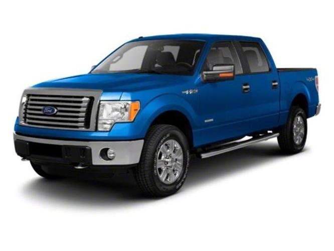 2012 Ford F-150 XLT 4x4 XLT 4dr SuperCrew Styleside 6.5