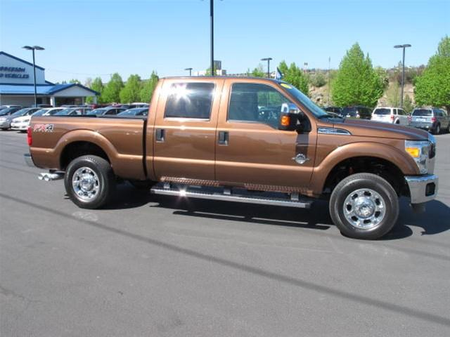 2012 ford f 250 4x4 king ranch 4dr crew cab 8 ft lb pickup for sale in bend oregon classified. Black Bedroom Furniture Sets. Home Design Ideas