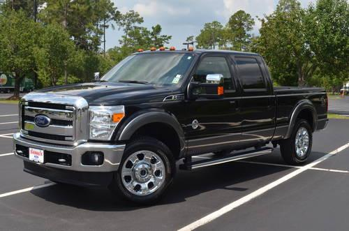 2012 ford f 250 lariat crew cab diesel 4x4 13k miles for sale in claiborne louisiana. Black Bedroom Furniture Sets. Home Design Ideas
