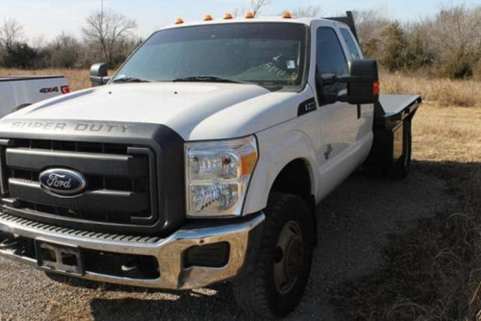 2012 Ford F-350 Super Duty XL 4x4 XL 4dr SuperCab 162