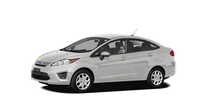 2012 Ford Fiesta S S 4dr Sedan