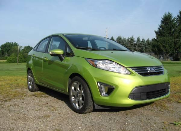 2012 ford fiesta sel for sale in conneaut lake pennsylvania classified. Black Bedroom Furniture Sets. Home Design Ideas