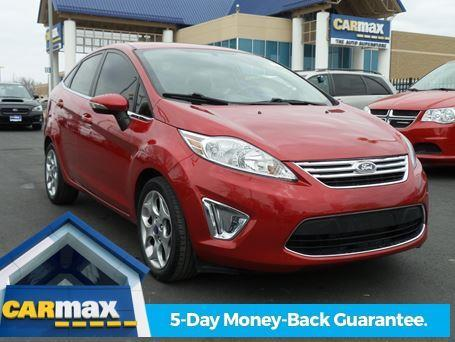 2012 Ford Fiesta SEL SEL 4dr Sedan