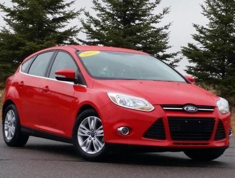 2012 ford focus 4 door hatchback for sale in marshfield wisconsin classified. Black Bedroom Furniture Sets. Home Design Ideas