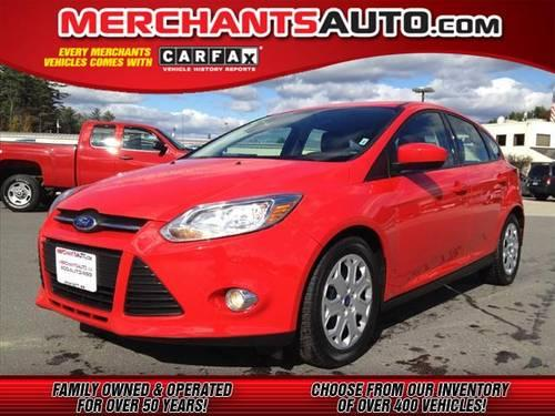2012 ford focus hatchback se for sale in manchester new hampshire classified. Black Bedroom Furniture Sets. Home Design Ideas