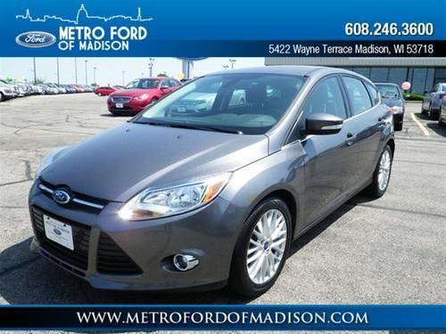 2012 ford focus hatchback sel for sale in madison wisconsin classified. Black Bedroom Furniture Sets. Home Design Ideas