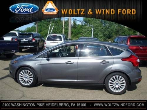 2012 ford focus hatchback titanium for sale in carnegie pennsylvania classified. Black Bedroom Furniture Sets. Home Design Ideas