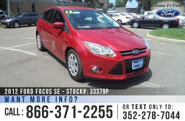 2012 Ford Focus SE - 43K Miles - Finance Here!