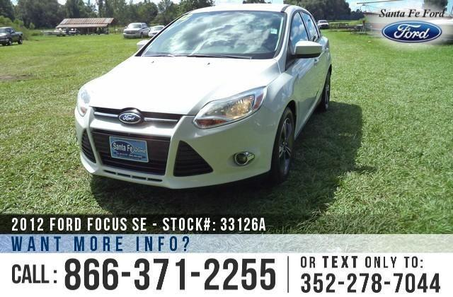 2012 Ford Focus SE - 66K Miles - Finance Here!
