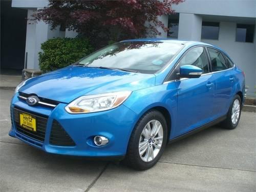 2012 ford focus sedan sel for sale in albany oregon. Black Bedroom Furniture Sets. Home Design Ideas