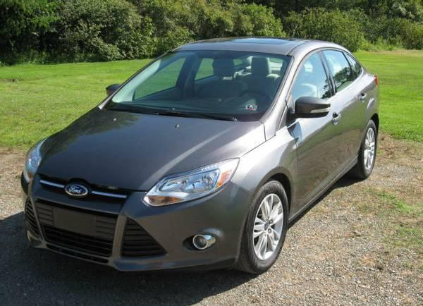 2012 ford focus sel for sale in conneaut lake pennsylvania classified. Black Bedroom Furniture Sets. Home Design Ideas