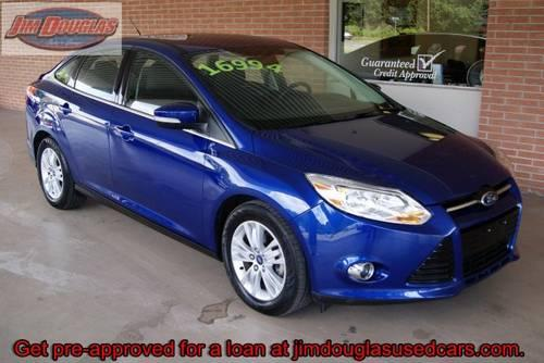 2012 ford focus sel sedan blue 33k miles awesome ride for sale in high springs florida. Black Bedroom Furniture Sets. Home Design Ideas