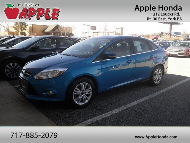 2012 ford focus sel sel 4dr sedan for sale in york pennsylvania classified. Black Bedroom Furniture Sets. Home Design Ideas