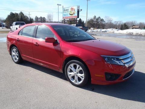 2012 ford fusion 4 door sedan for sale in freeland michigan classified. Black Bedroom Furniture Sets. Home Design Ideas