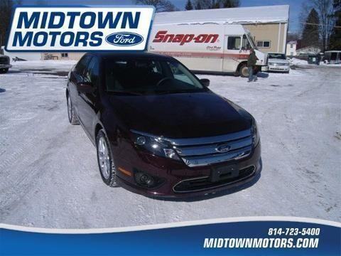 2012 ford fusion 4 door sedan for sale in north warren for Warren midtown motors ford