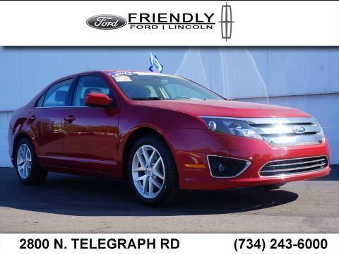 2012 ford fusion 4 door sedan for sale in monroe michigan. Black Bedroom Furniture Sets. Home Design Ideas