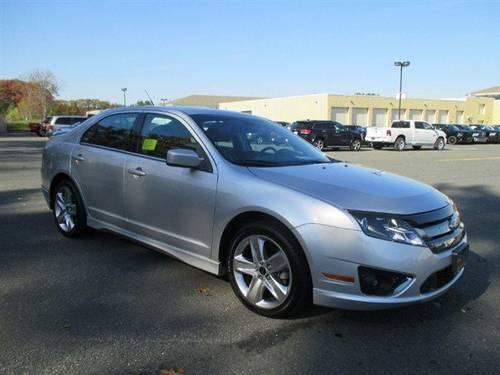 2012 ford fusion 4dr car sport for sale in mendon massachusetts. Cars Review. Best American Auto & Cars Review