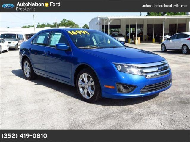 2012 ford fusion for sale in brooksville florida classified. Cars Review. Best American Auto & Cars Review